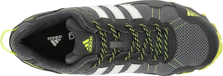 adidas  Men's Rockadia Trail m Running Shoe Dark Grey/White/Electricity