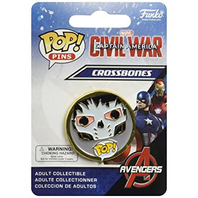 Captain America: Civil War Crossbones Pop! Pin: Funko Pop Pins:: Toys & Games