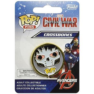 Captain America: Civil War Crossbones Pop! Pin: Funko Pop Pins:: Toys & Games [5Bkhe0306234]