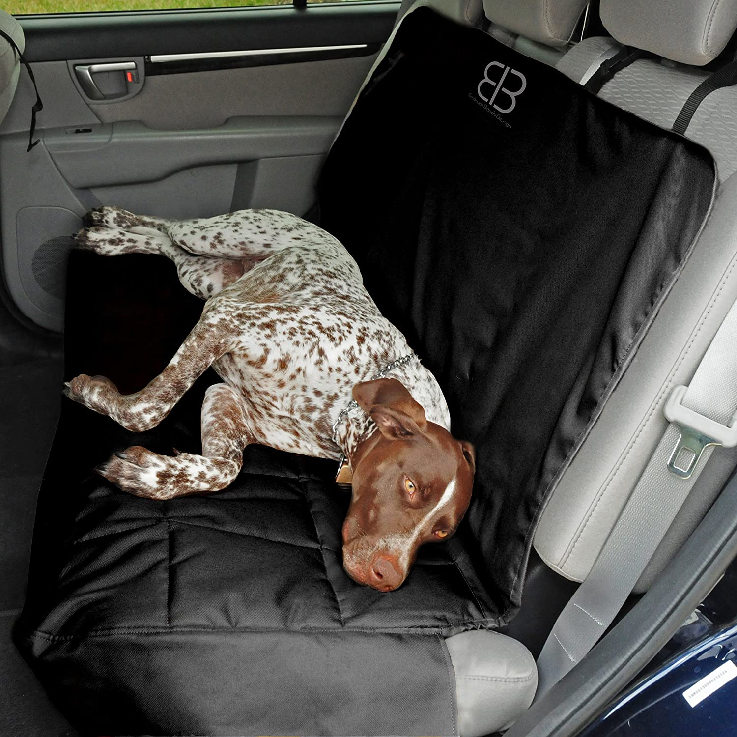 Petego Ultra Durable, Water Resistant, Scratch Proof, Padded and Quilted Car Seat Covers for Pets