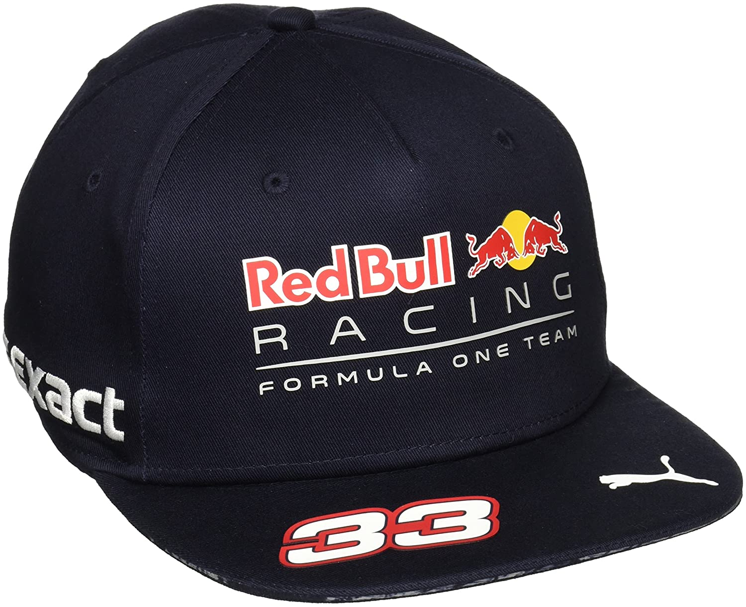 df96fdf9294a2 Puma Red Bull Racing Replica Verstappen Cap Sr  Amazon.co.uk  Sports    Outdoors