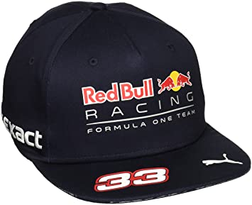 Puma Red Bull Racing Replica Verstappen Cap Sr  Amazon.co.uk  Sports ... b3172df7822