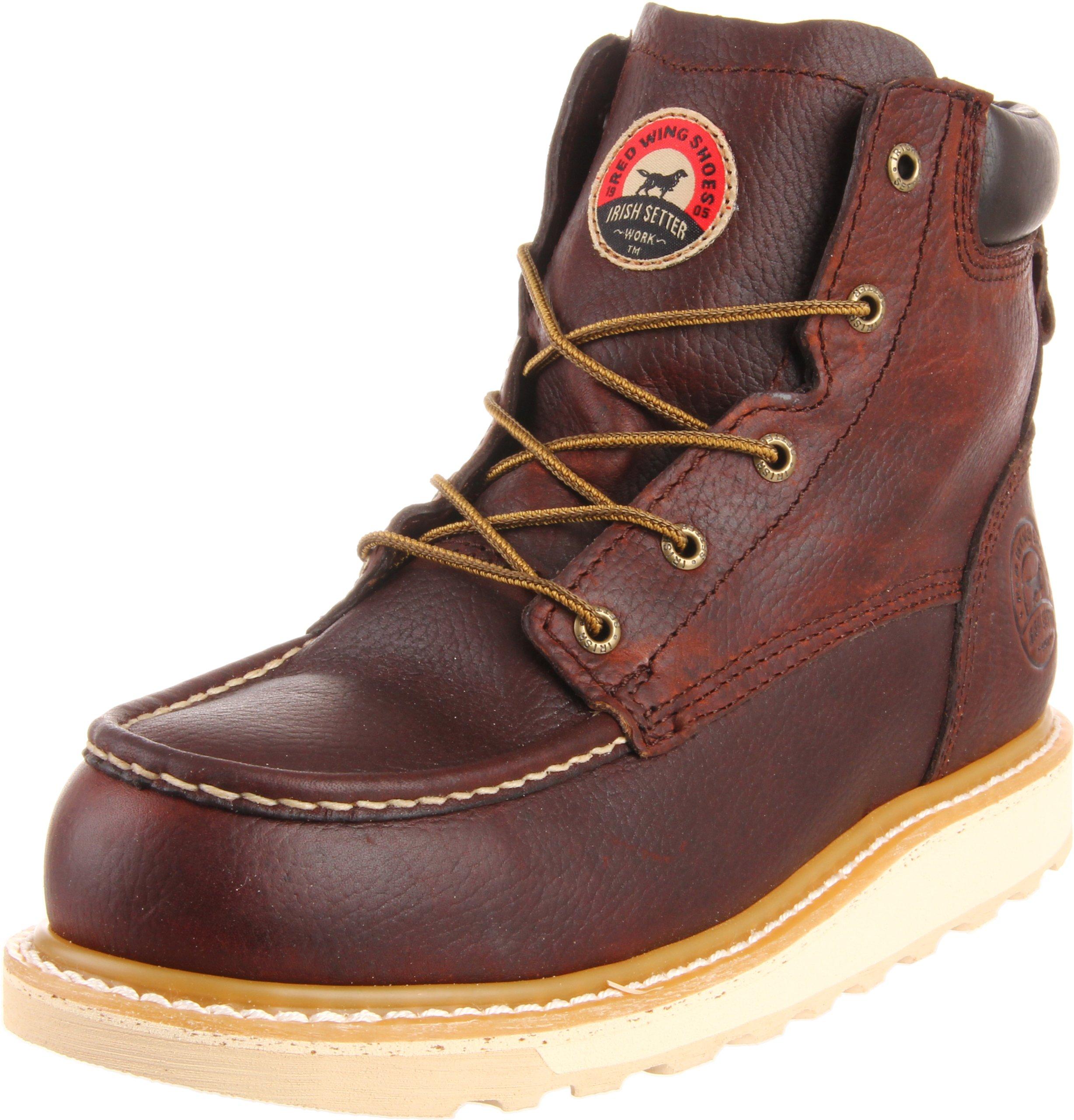 Irish Setter Men's 83606 6'' Aluminum Toe Work Boot,Brown,10 D US by Irish Setter
