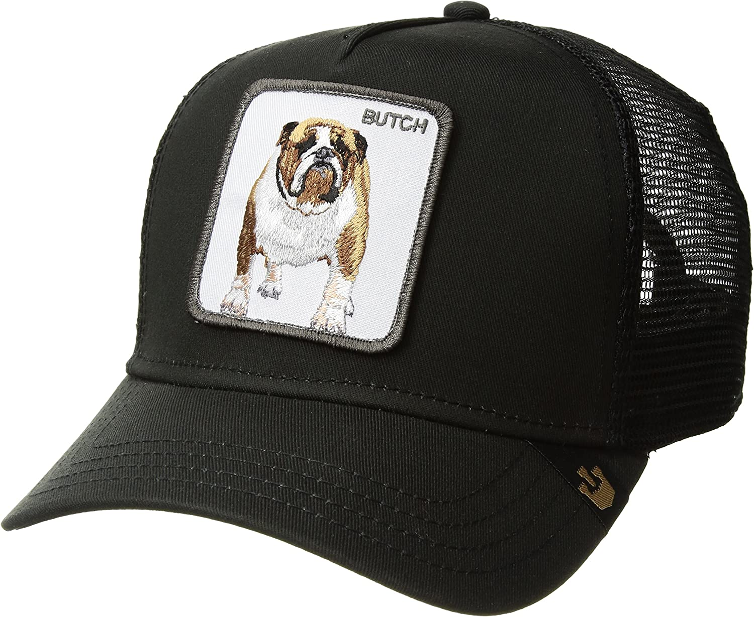 Goorin Bros  Mens Butch Animal Farm Trucker Cap  Black  One Size