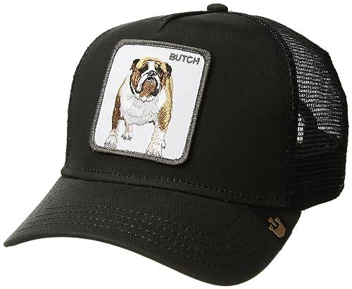Gorra trucker negra perro bulldog Butch de Goorin Bros. - Negro ... 3658f181d1c