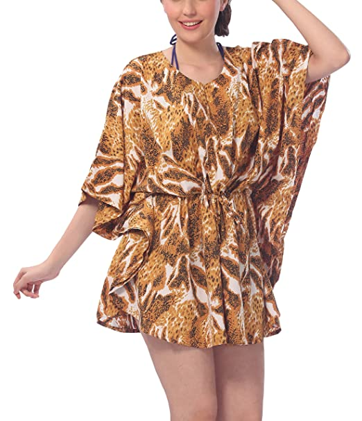 8945b3c1dad71 LA LEELA Soft fabric Printed Tassel Cruise Women OSFM 14-28  L-4X ...