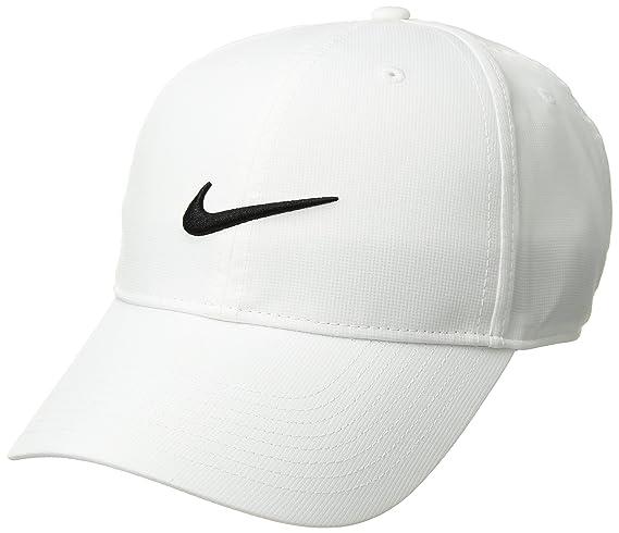 Nike 892651, Gorra de béisbol para Hombre, (Blanco 100), One Size (Tamaño del Fabricante:Unica)