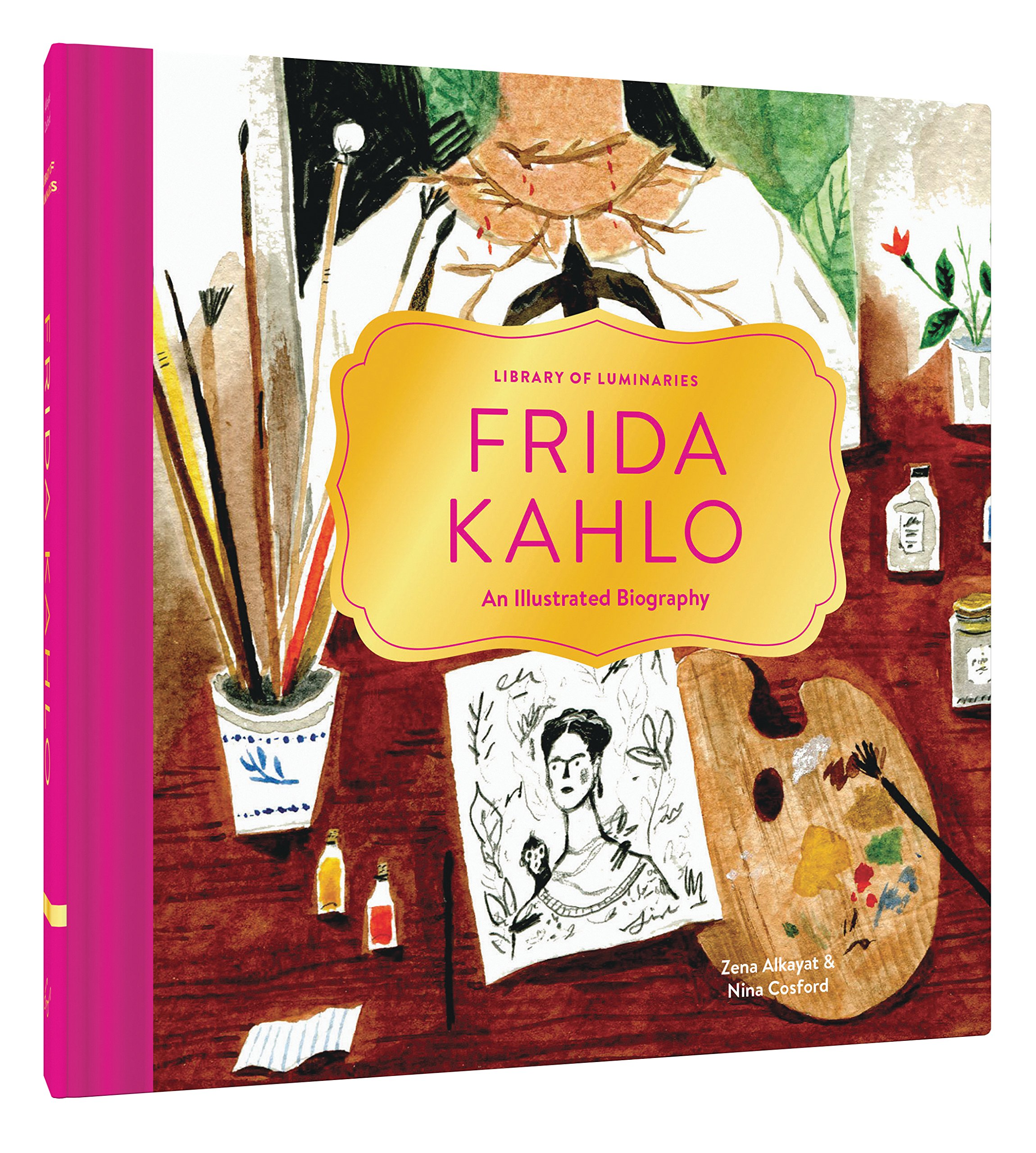 library of luminaries frida kahlo an illustrated biography