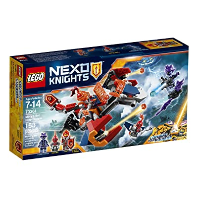 LEGO Nexo Knights Macy's Bot Drop Dragon 70361 Building Kit (153 Piece): Toys & Games