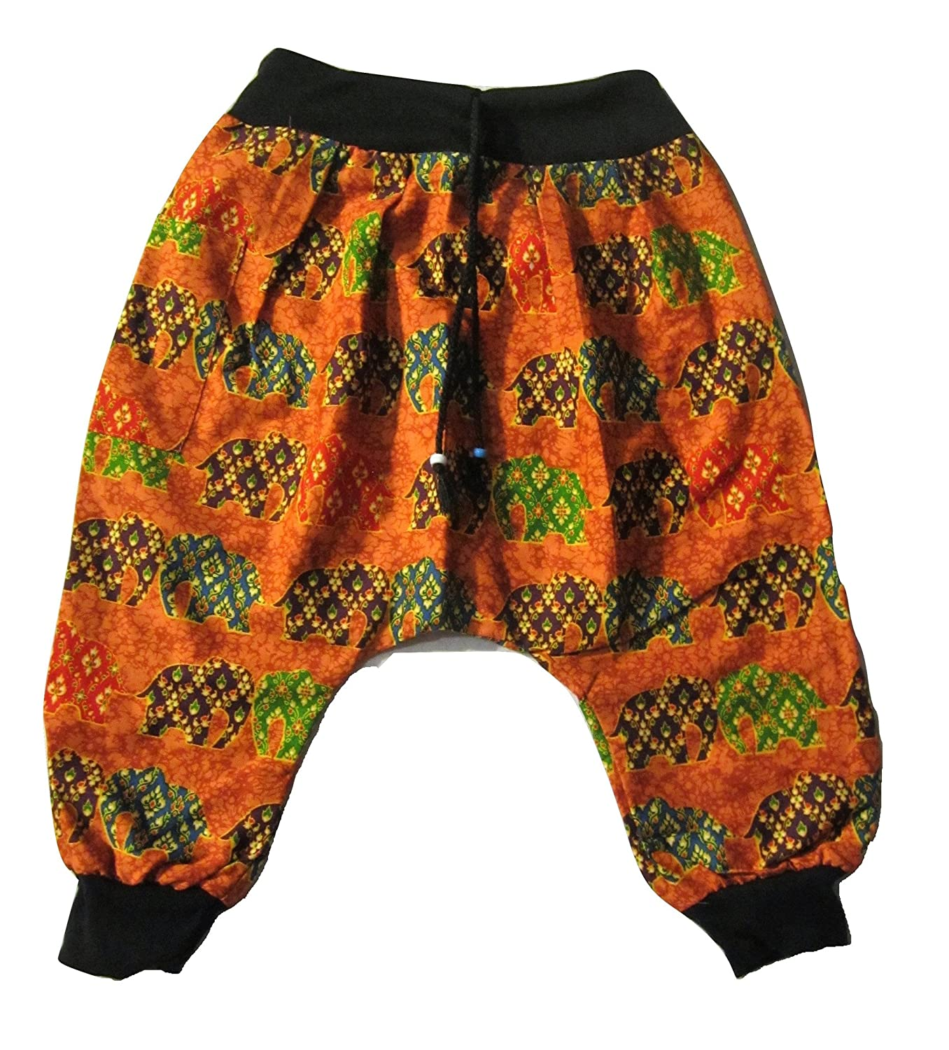 Kids Elephant Pant Orange