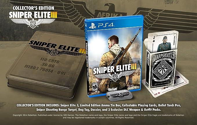Sniper Elite III: Collectors Edition - PlayStation 4 Collectors ...