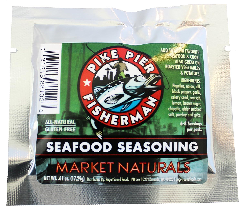 Pike Pier Fisherman Seafood Seasoning Flavor Packet