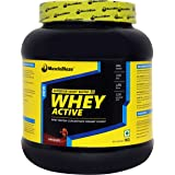 MuscleBlaze Whey Active, Chocolate 1 kg / 2.2 lbs