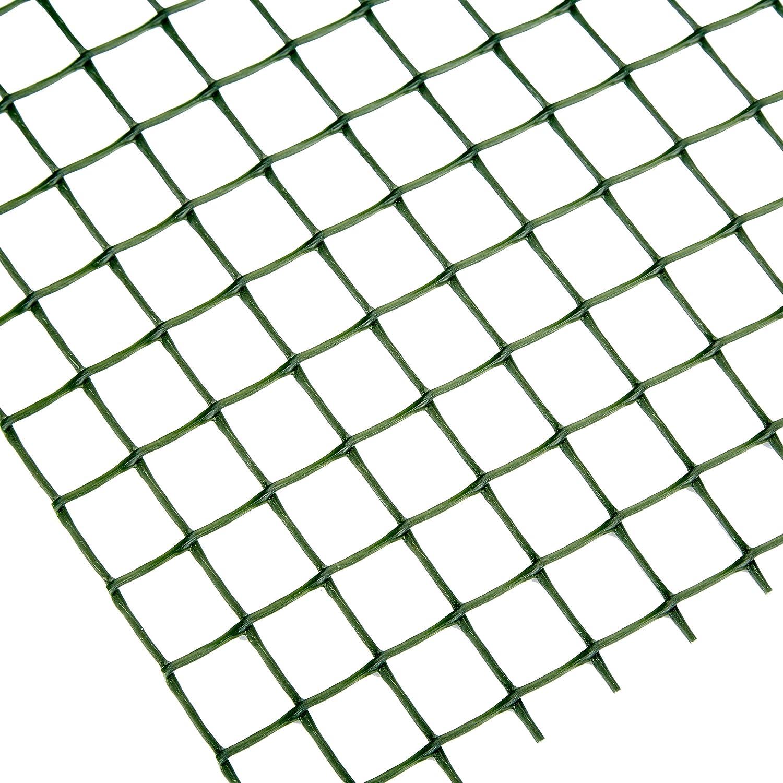 Catral 52010007 Rollo malla cuadrada color verde 0.2 x 300 x 100.0 cm