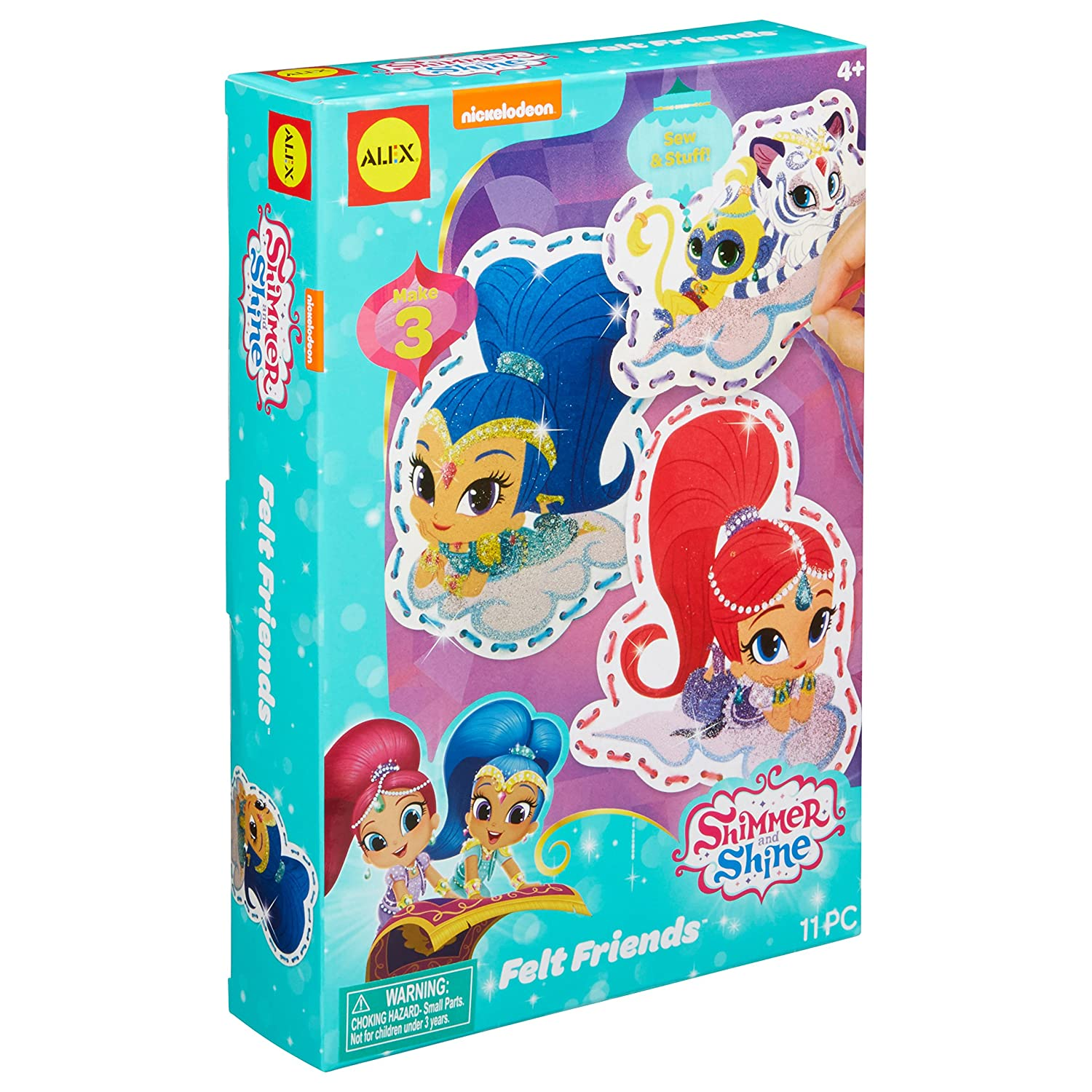 Shimmer and Shine Felt Friends Craft Activity