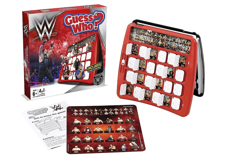 Winning Moves 029889 WWE Guess Who Spiel: Amazon.de: Spielzeug