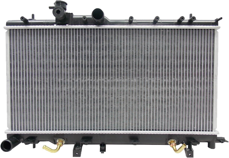 2450 Radiator For Subaru Impreza WRX 2002 2003 2.0 H4