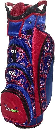 Birdie Babe American Swinger Red and Blue Ladies Golf Cart Bag