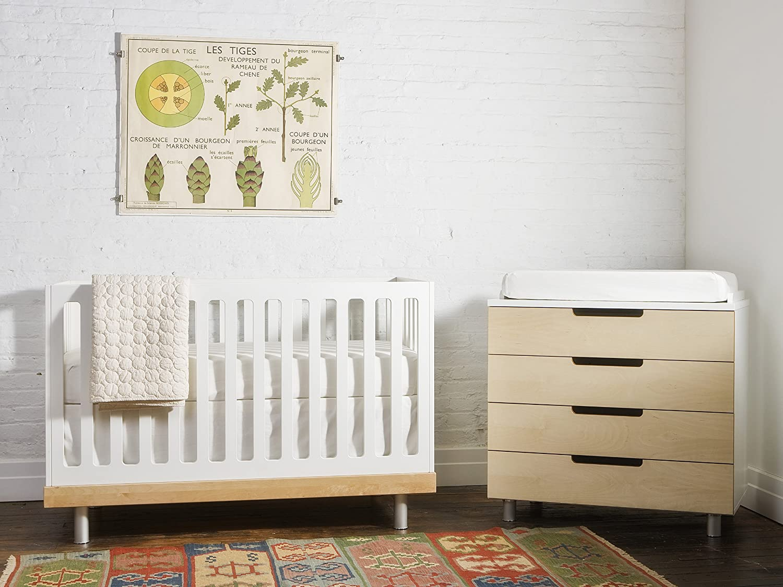 amazoncom  oeuf classic crib birch  baby -