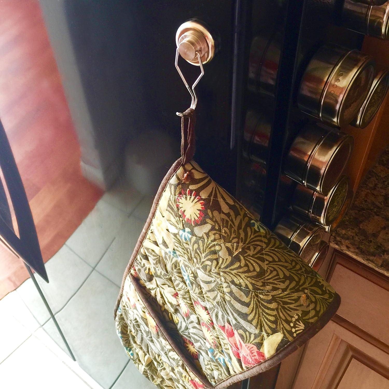 Uncluttered Designs Crochets Pivotants Aimants Puissants Ultra r/ésistants solides rares crochets magn/étiques de n/éodyme pour le rangement suspendu et lorganisation 2 pi/èces, 23 kg
