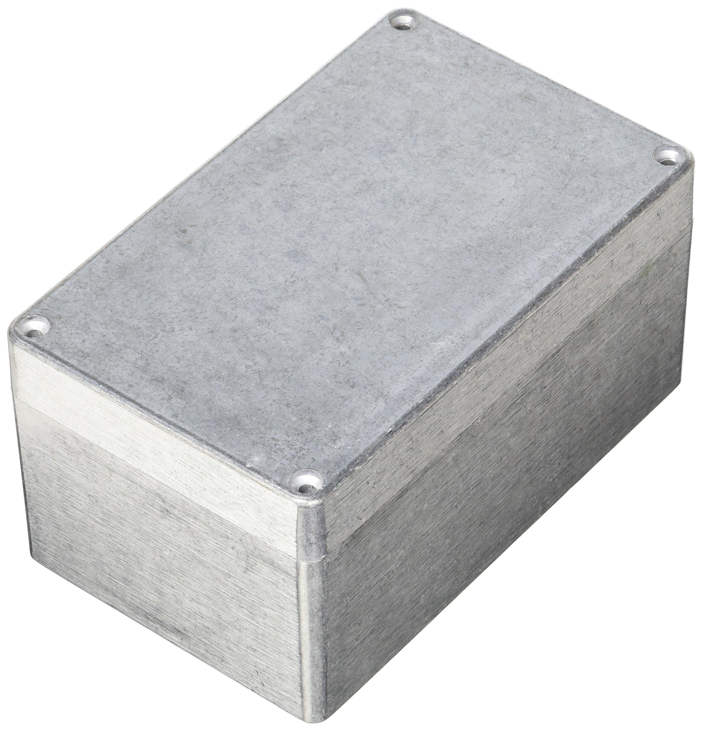 BUD Industries AN-1317-A IP68 Aluminum 6.29x3.93x3.19 Enclosure, Natural