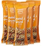 Wickedly Prime Nut Bar, Peanut & Almond, Gluten Free, Kosher, 1.4 Ounce (Pack of 5)