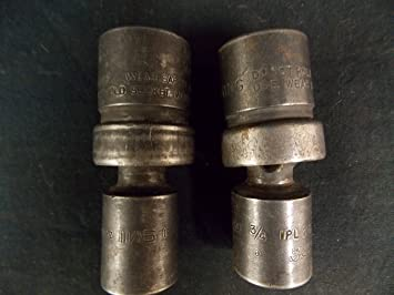 """Snap On Screwdriver 2 Blue Point 3//8/"""" 8 SAE Sockets 5//16/""""-3//4/"""" 6 point"""