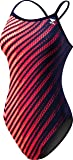 TYR Echelon Diamondfit Swimsuit, Navy/Red, 22