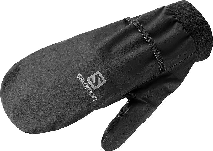 Salomon Rs Warm Glove U Black White Unisex Adulto