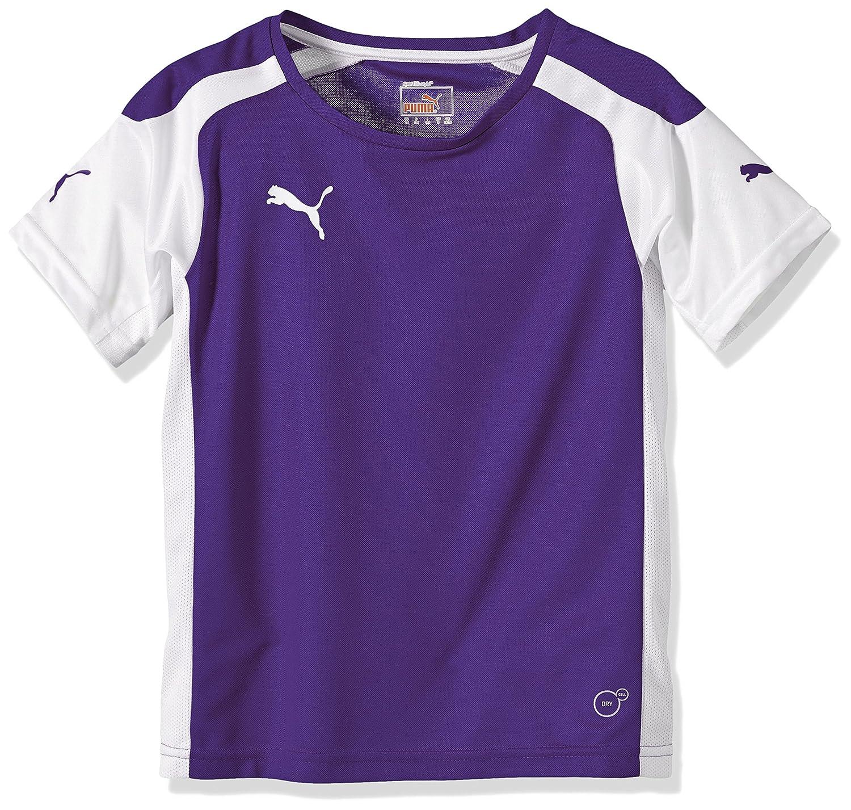 Puma Mens Speed Jersey - Maglietta da bambino, Viola (bianco-viola), 176 701906 10