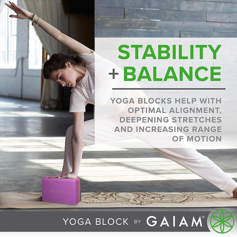 Gaiam Yoga Block, Apple Green by Gaiam: Amazon.es: Deportes ...