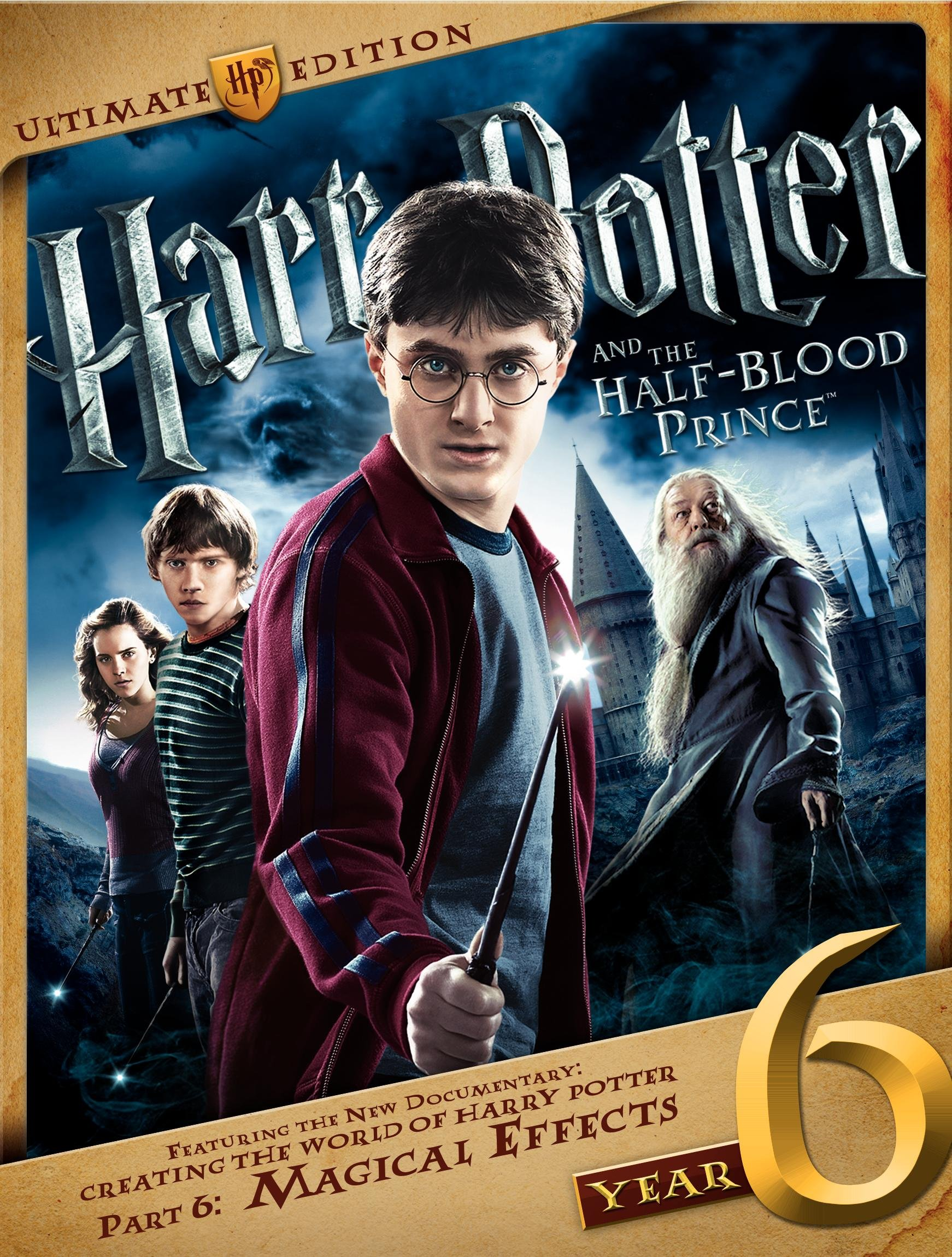Harry Potter and the Half-Blood Prince (Three-Disc Ultimate Edition)