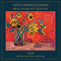 Contemporary Impressionism Wall Calendar 2020 - Erin Hanson's Floral Paintings