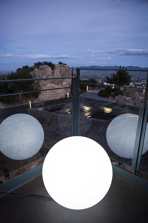 Decorativa WBlanco Moovere Iluminada E277 Cm X 44 Boole Translúcido50 Esfera BeCxord