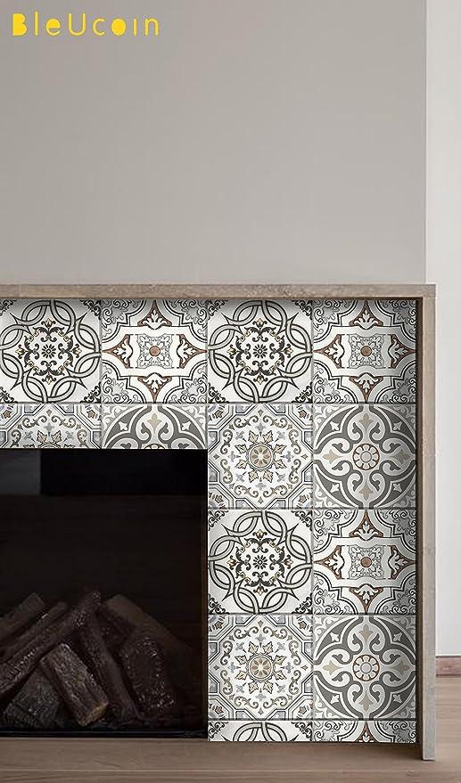Art Deco Style Fliesen Aufkleber Für Küche Und Badezimmer Backsplash,  Abnehmbare Treppe Riser Abziehbild,