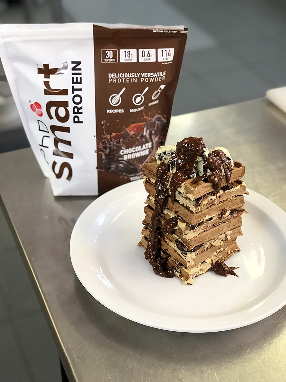 PhD Smart Whey Protein en Polvo Brownie de chocolate 900g ...
