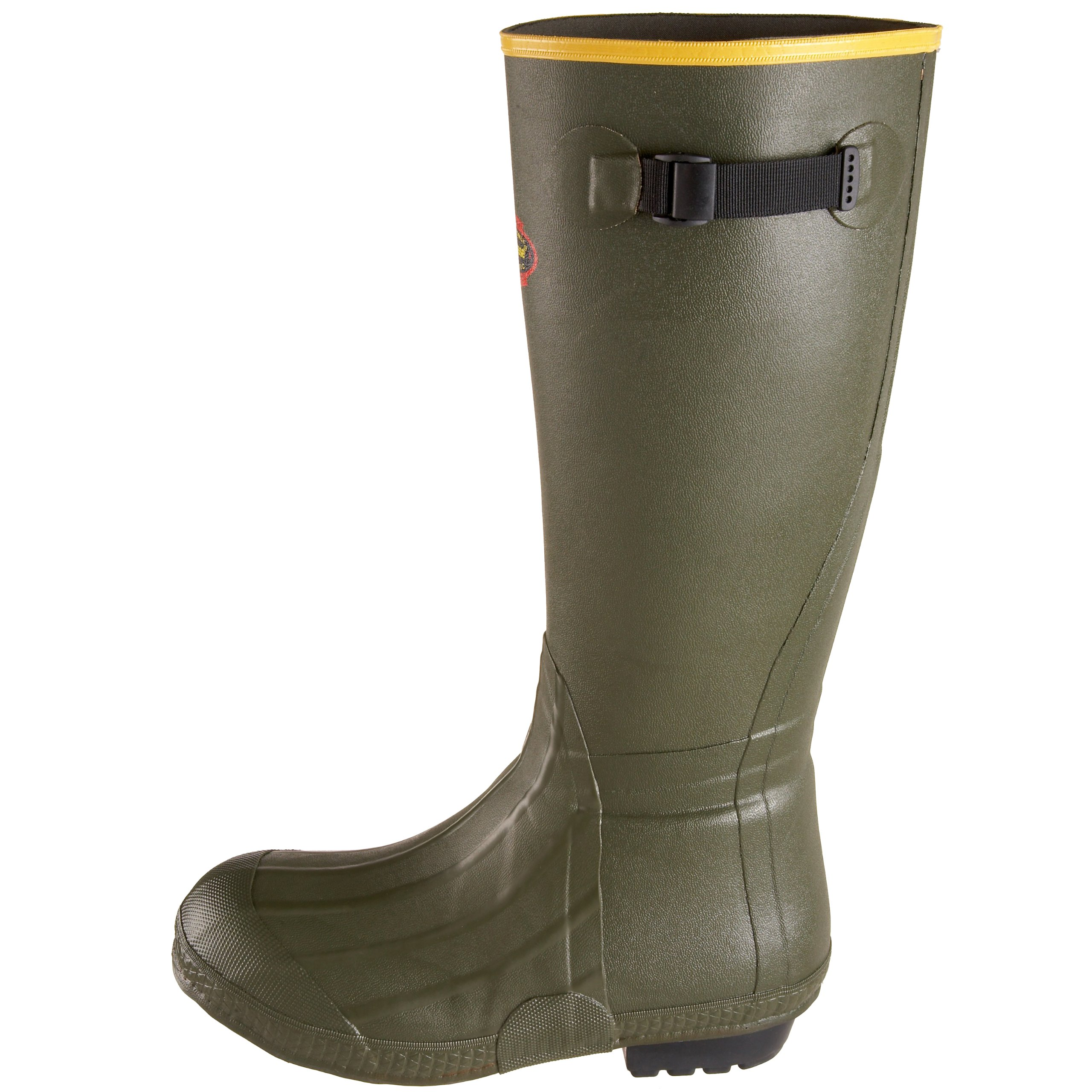 LaCrosse Men's 18'' Burly Air Grip Hunting Boot,Olive Drab Green,6 M US by Lacrosse (Image #5)