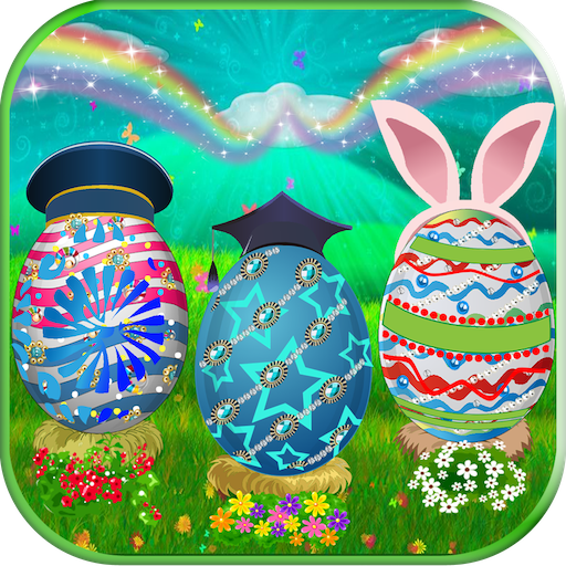 Easter Egg - Decoration & Coloring Book (Coloring Pages Of Easter Eggs And Bunnies)