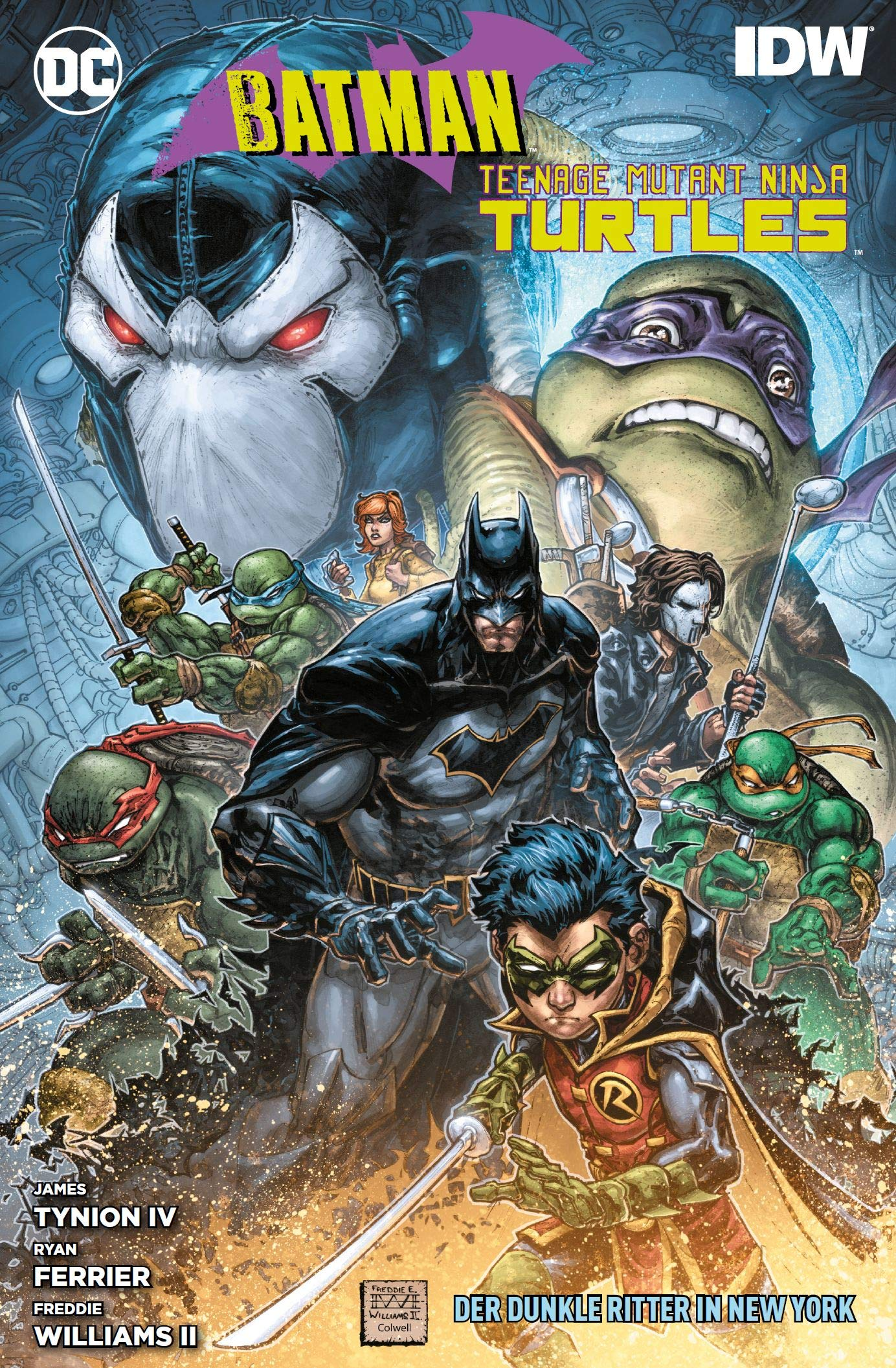 Batman/Teenage Mutant Ninja Turtles: Der Dunkle Ritter in ...