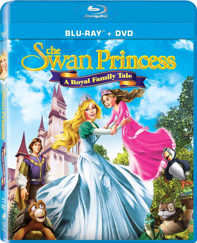 amazon com swan princess a royal family tale two disc combo blu
