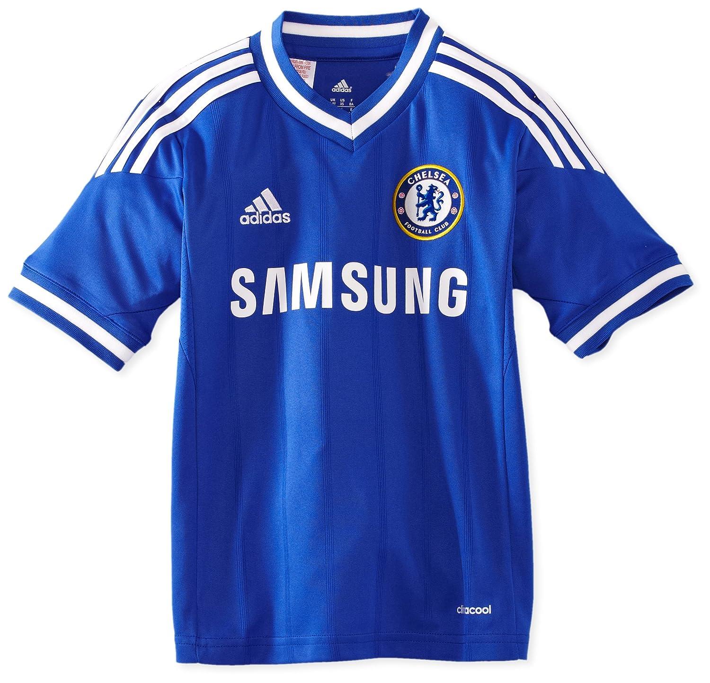 Adidas Kinder kurzärmliges Trikot Chelsea FC Home Jersey Youth