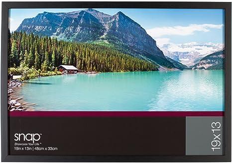 "Pine Photo Picture Frame 19mm 13x13 13x14 13x15 13x16 13x17 13x18 13x19/"" Mount"