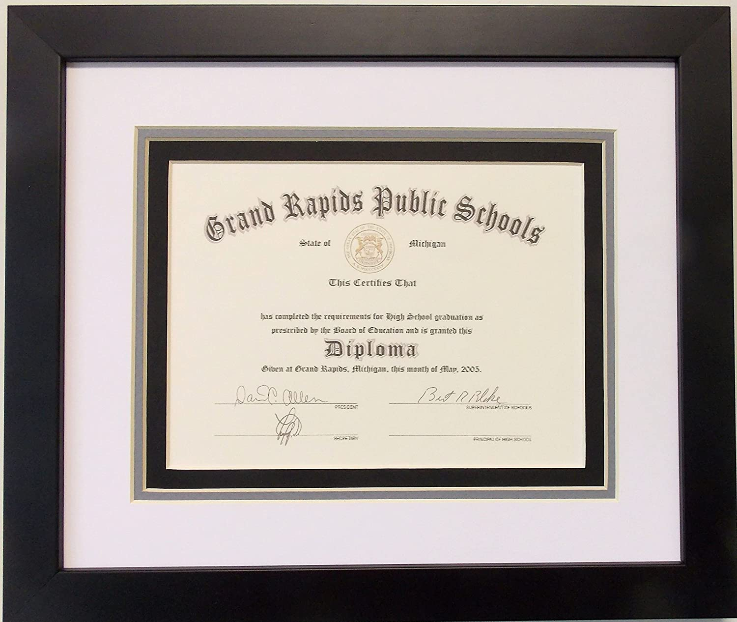 Beautiful High School Diploma Frame Photos - Picture Frame Ideas ...