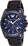 Emporio Armani Men's Quartz Watch, Analog Display and Silicone Strap AR6121