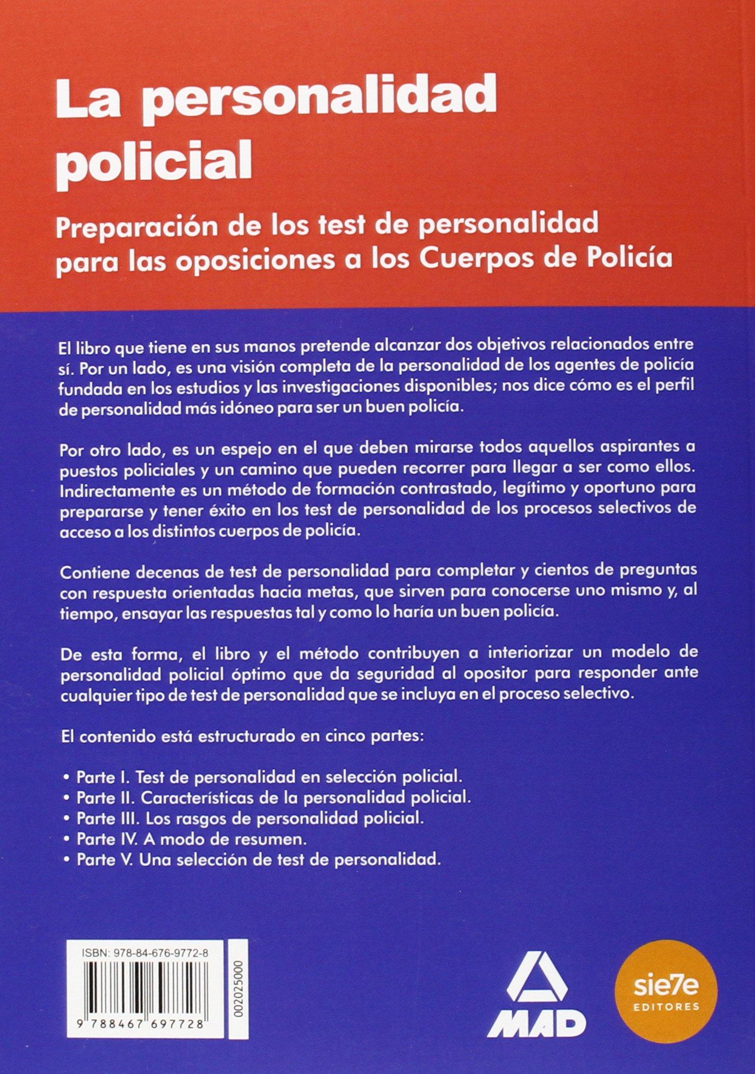 La personalidad policial: Ed. MAD: Amazon.com.mx: Libros