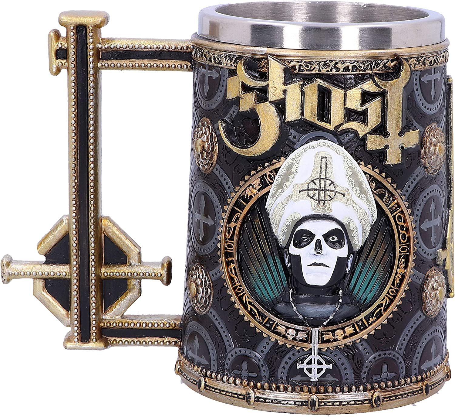 Nemesis Now Ghost Goblet Gold Meliora Calici Tazze