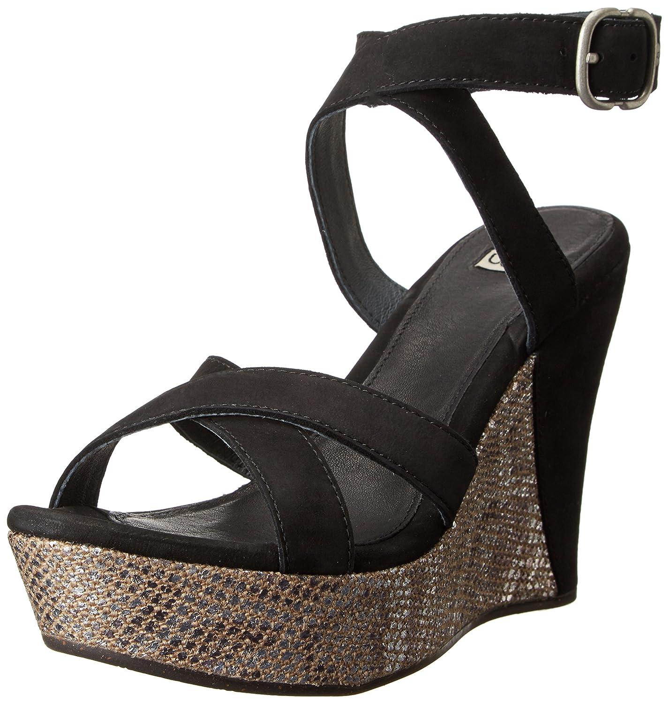 f4acbfae3f0 Amazon.com | UGG Women's Ariah, Black Nubuck, 7 B - Medium | Sandals