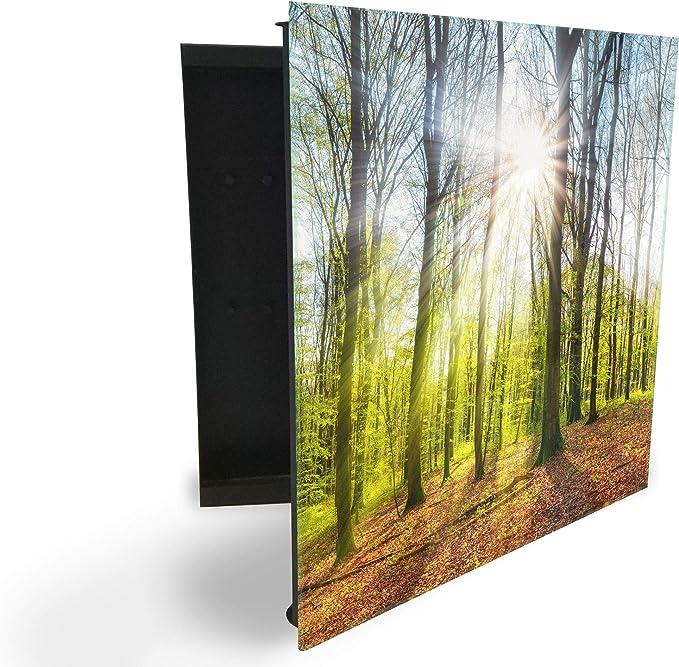 GlassArtist HMF 108699920 - Caja para Llaves (30 x 30 cm, con ...