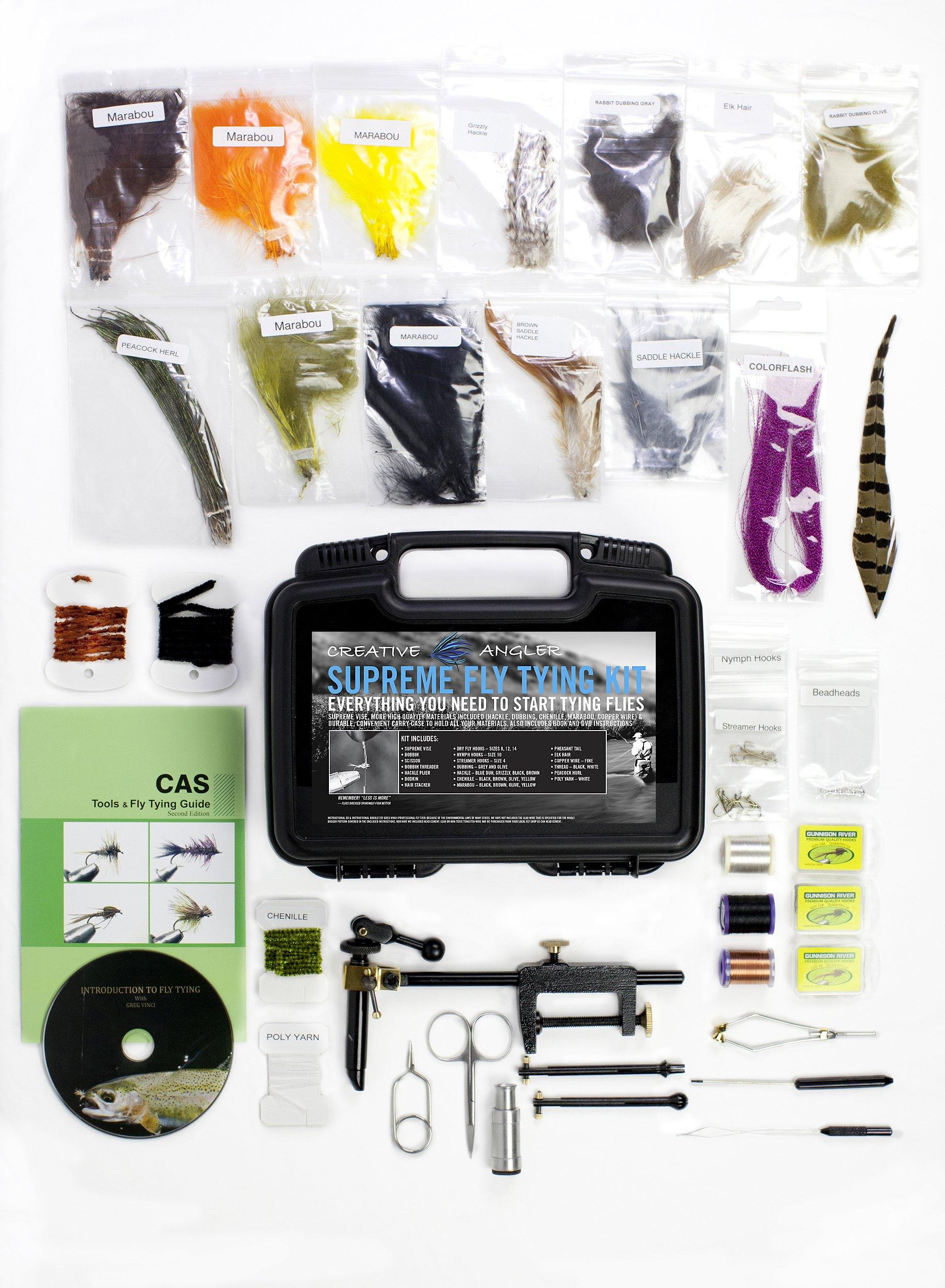 Creative Angler Supreme Fly Tying Kit by Creative Angler