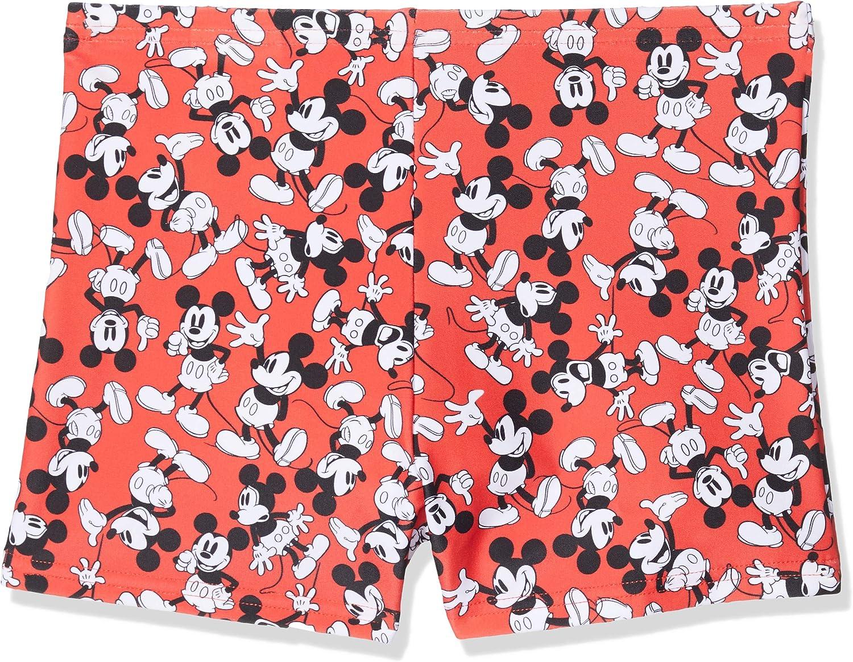 Aquashort Infant Male Speedo Estampado Digital Integral Disney Mickey Mouse Pantal/ón De Ba/ño